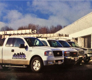 Photo of Allied Commericial Roofing Services office and parking lot.
